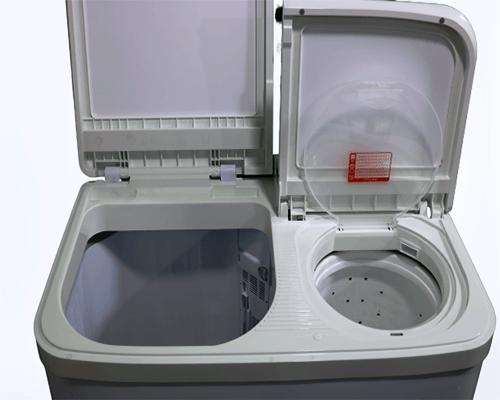 inside Miyako washing machine