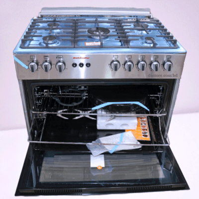 Five Burner Gas Oven